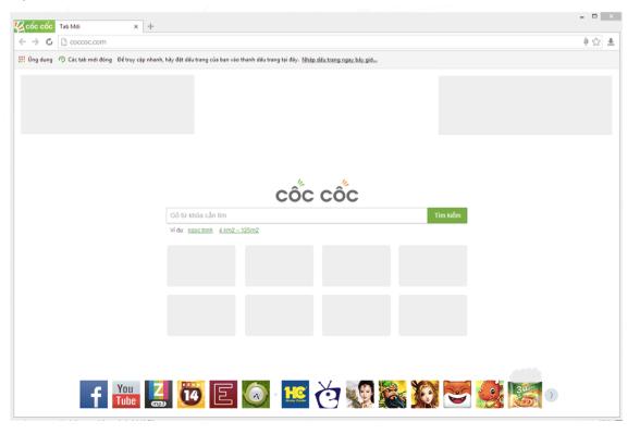 quang cao logo website tren coc coc